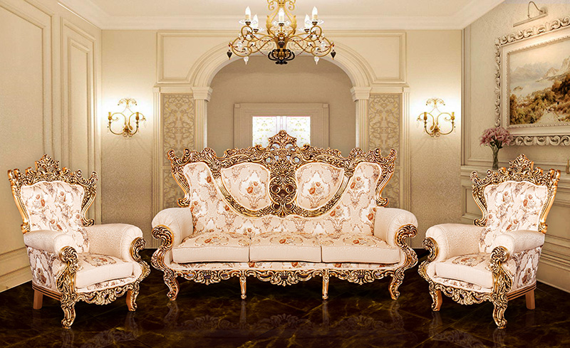 راهنمای چیدمان مبل سلطنتی در منزل